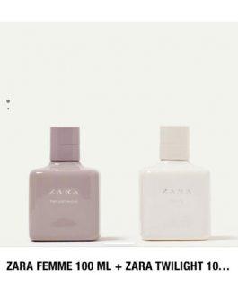 Zara femme+twilight 100 ml