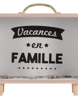Tirelire vacances en famille
