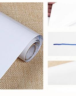 Tableau blanc autocollant (utilisable avec marqueur effaçable)
